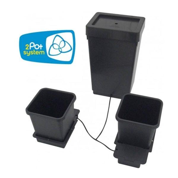 AutoPot 2 Pot Kit with 47L Water Butt