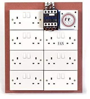 12 Way Lighting Board with Timer