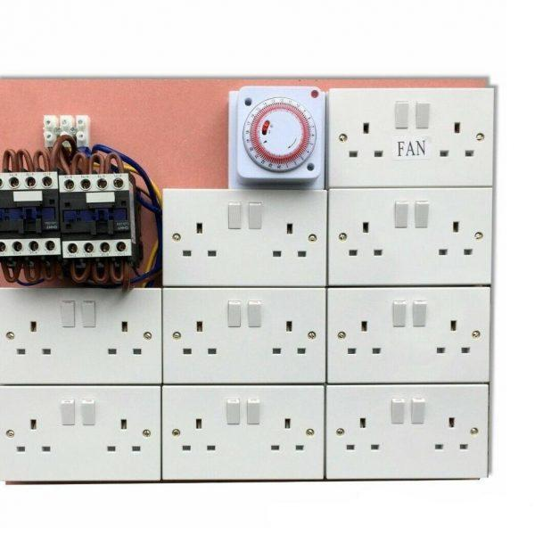 16 Way Lighting Board with Timer