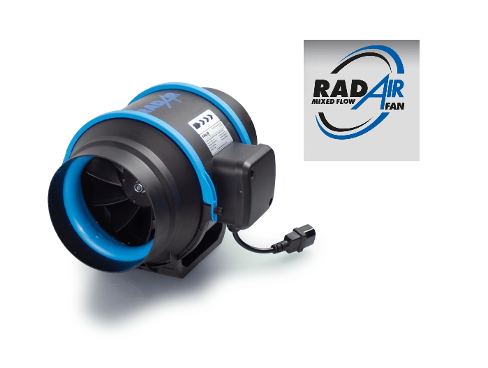RADAIR MIXED-FLOW INLINE FAN
