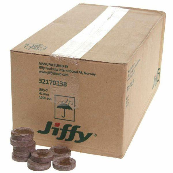 Jiffy 7 Peat Plugs – Box 1000