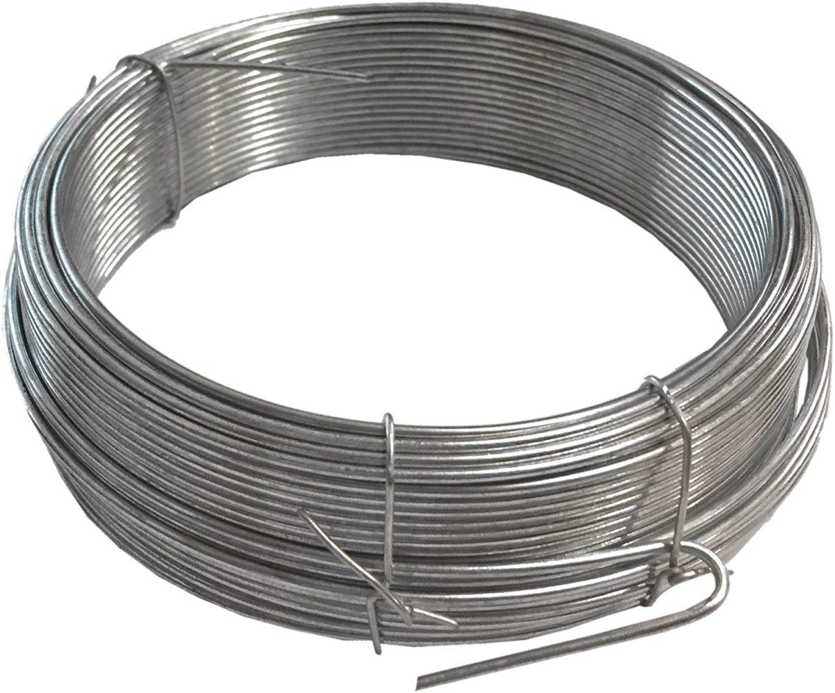 Silver Garden Wire