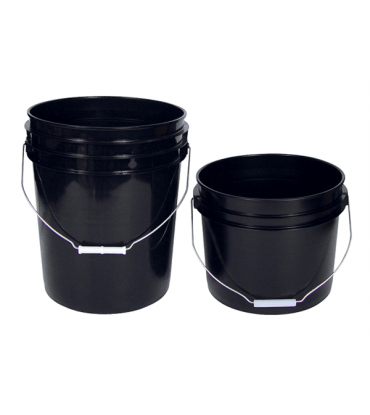 Black Bucket & Lid