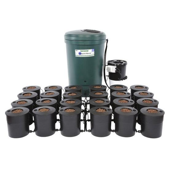 IWS Deep Water Culture – with DWC basic brain – 6, 12, 18 and 24 Pot