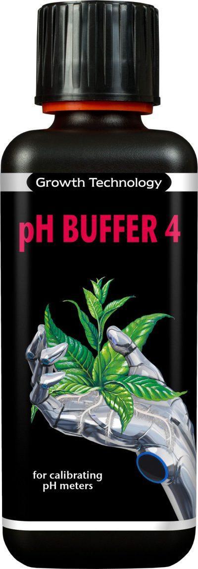 Growth Technology pH Buffer 4 – 300ml