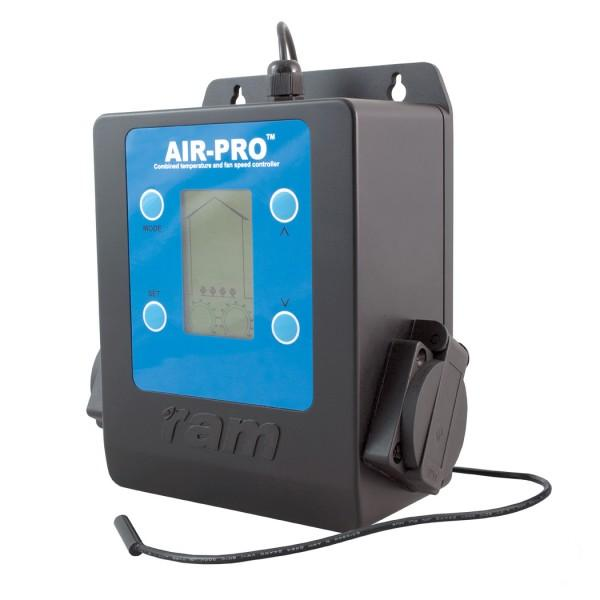 RAM AIR-PRO II Intelligent and Silent Indoor Climate Fan Controller