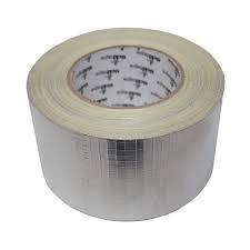 Silver X-Weave Tape